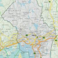 Kart Oslo kommune